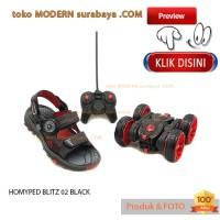 NO 33 HOMYPED BLITZ 02 BLACK sandal gunung anak BERHADIAH