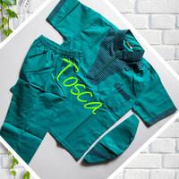 baju Koko anak Model Neck seris 1-5 Tahun