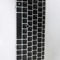 Keyboard Laptop HP EliteBook Folio 9470m 702843-001US Black Backlit
