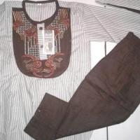 (Sale!!!) Baju Koko Pakistan Anak Motif Garis