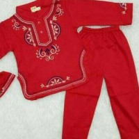 (Baru!!) Baju Koko Bayi / Muslim Laki Laki / Koko Anak Bayi Putih