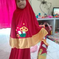 mukena anak lucu usia 6-8 tahun (REAL PIC)