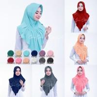 Hijab Instan Zenova Kerudung Jilbab Jersey Zoya Pad Rempel Praktis