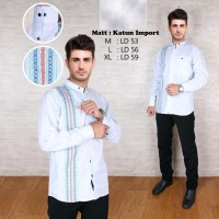 Terbaru Baju Koko fashion OML25 Pakaian muslim pria trend