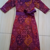 mini dress endek bali