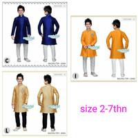 REGULER SIZE baju koko model india pakaian muslim anak laki senshukei