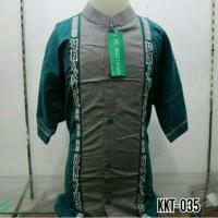 Baju Koko Anak Muslim Bordir Lengan Pendek Murah Tanah Abang KKT 035 T
