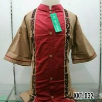 Baju Muslim Anak Baju Koko Anak Lengan Pendek Tanah Abang KKT 032 T51