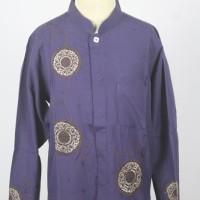 Baju Koko Anak Warna Ungu Lengan Panjang/ Fashionable/ Keren
