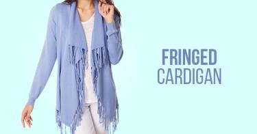 Fringed Cardigan