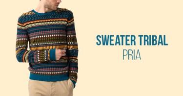 Sweater Tribal Pria