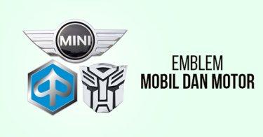 Emblem Mobil & Motor