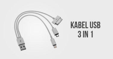Kabel USB 3 in 1