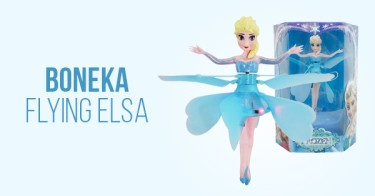 Boneka Flying Elsa