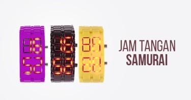 Jam Tangan Samurai