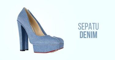Sepatu Denim