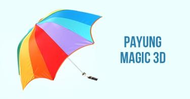Payung Magic 3D
