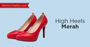 High Heels Merah