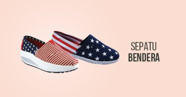 Sepatu Bendera