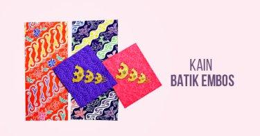 Kain Batik Embos