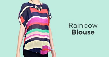 Rainbow Blouse