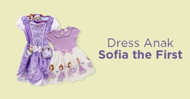 Dress Anak Sofia the First