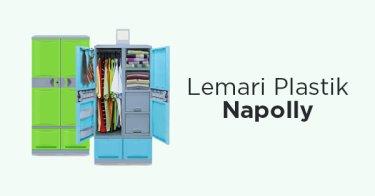 Lemari Plastik Napolly