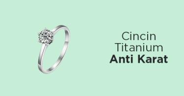 Cincin Titanium Anti Karat