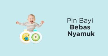Pin Bayi Bebas Nyamuk
