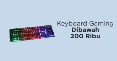 Keyboard Gaming di Bawah 200 Ribu