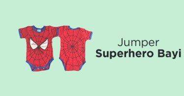 Jumper Superhero Bayi