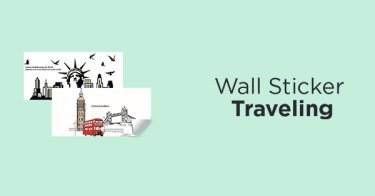 Wall Sticker Traveling