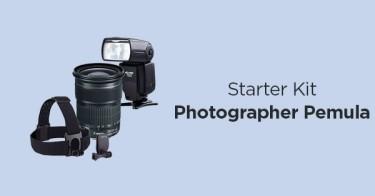 Starter Kit Photographer Pemula