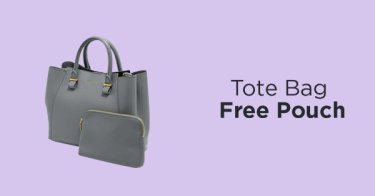 Tote Bag Free Pouch