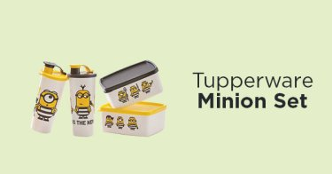 Tupperware Minion Set
