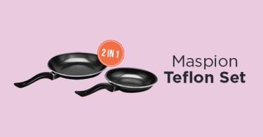 Maspion Teflon Set