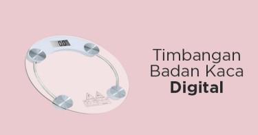 Timbangan Badan Kaca Digital