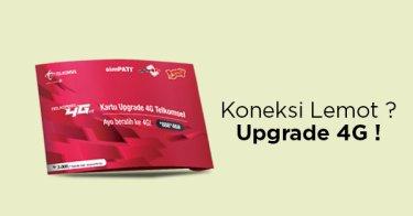 SIM Card Upgrade 4G