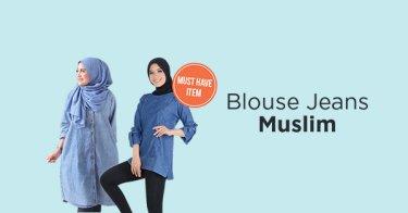 Blouse Jeans Muslim