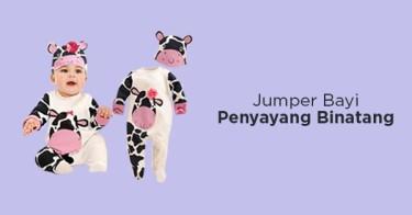 Jumper Bayi Motif Binatang