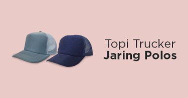 Jual Topi Trucker Polos  d16633a7b2
