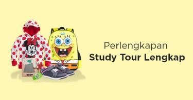 Perlengkapan Study Tour Anak
