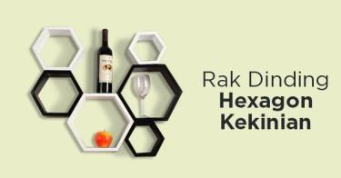 Rak Dinding Hexagon