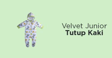 Velvet Junior Tutup Kaki