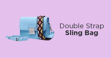 Double Strap Sling Bag
