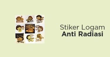 Stiker Logam Anti Radiasi