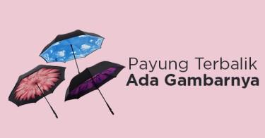 Payung Terbalik Kazbrella Motif