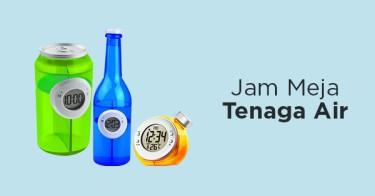 Jam Meja Tenaga Air