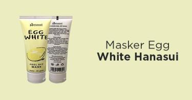 Masker Egg White Hanasui