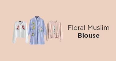 Floral Muslim Blouse